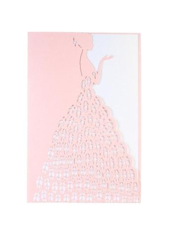 Chicuu 20pcs invitation holders 20pcs folhas internas wedding invitation card set pearl paper laser cut cartes stopboris Images