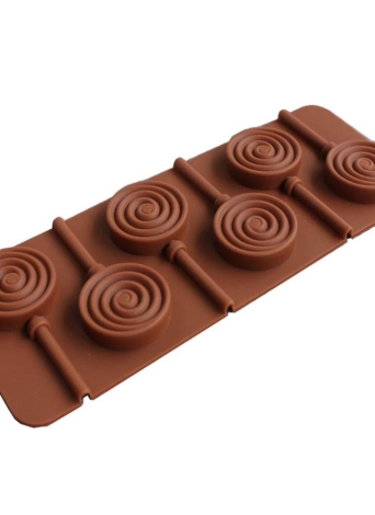 Stampo in silicone Lecca-lecca Teglia da forno fai-da-te Macchia in silicone resistente agli odori