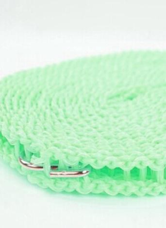 Línea de ropa al aire libre a prueba de viento de plástico Tipo de ropa de secado antideslizante de nylon cuerda de suspensión
