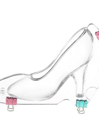 Chaussure à talons en 3D, bricolage, fondant, gâteau, moule, sucre, chocolat, bonbon, modèle, moules, gâteau, décoration, boulangerie, outil