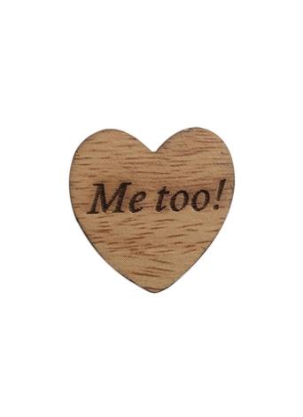 50Pcs di legno naturale rustico di legno di amore Hollow Hollows abbellimenti per decorazione artigianale fette dischi ornamenti di lettere incise gioielli DIY faccio sempre amare i puntelli