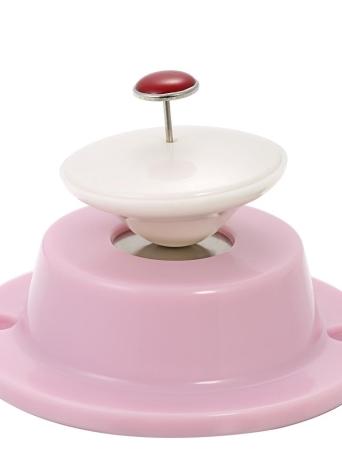 Rosa forte magnetici copripiumini Pins fermi per evitare di piegare i lacci per trapunte