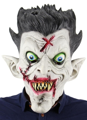 Latex Horror Ghost Clown Halloween Bar Masquerade Prop Scary vampire Mask New US