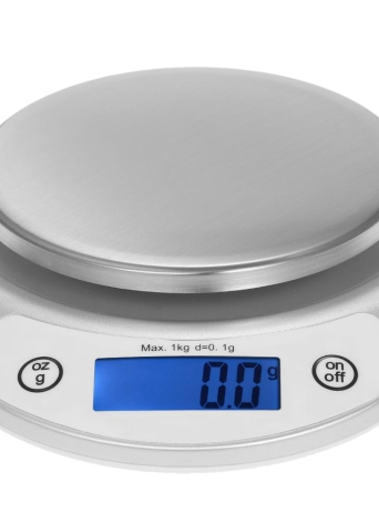 1kg/0.1g Accurate Kitchen Scale High-precision Pocket Food Scale Portable Electric Kitchen Scale Multifunctional Scale with Back-Lit LCD Display