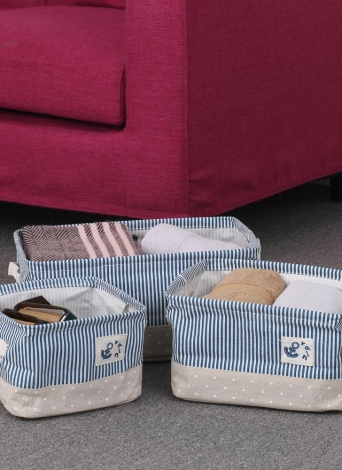 3pcs/set Foldable Storage Box Storage Bag Multifunction Storage Box Organizer Bins Lightweight Foldable Storage Basket Set for Home Dormitory Traveling Closet Organizer