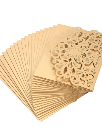 20pcsset white wedding invitation cards kit pearl paper laser cut 20pcsset wedding invitation cards pearl paper laser cut hollow butterfly pattern invitation cards kit stopboris