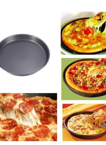 Pfanne Pizza Kuchen backen Schimmel Schimmel Backformen 8 In runder Form Geschirrspüler sicher vielseitig robust