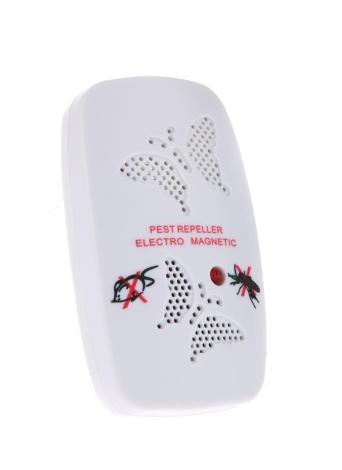 Pragas Ultrassônico Repeller Mosquito formigas aranhas baratas repelindo 100V-240V atóxico