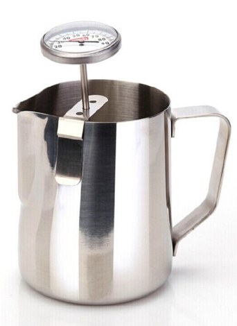 En acier inoxydable lait café thermomètre Espresso moussage température mètre cuisine Cafe Craft Tool