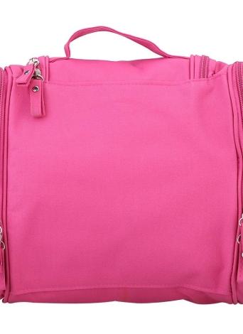 Borsetta sospeso da toeletta di viaggio a cerniera lampo impermeabile multifunzionale borsa di toeletta e cosmetico di trucco cassa dell'organizzatore di immagazzinaggio