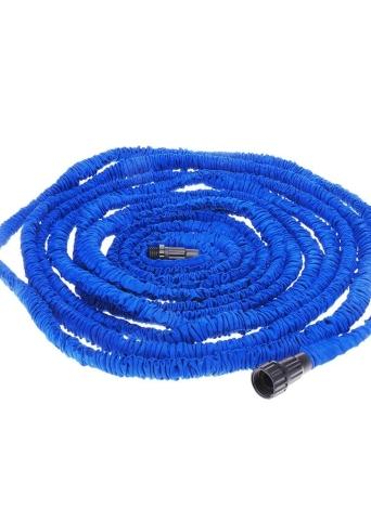 Flexible Expandable Ultralight Garden Watering Hose Magic Pipe Blue 100FT