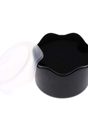 Art und Weise runder Plastikuhr-Aufbewahrungsbehälter mit Schwamm-Kissen