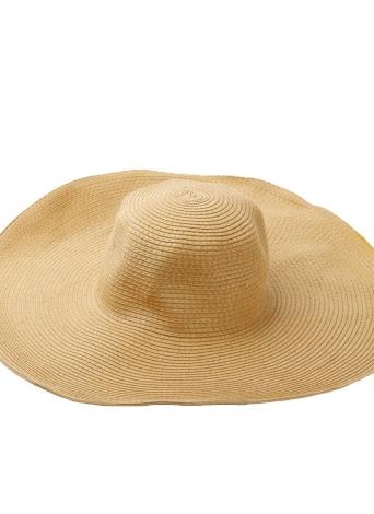 Моды милые женщины летом пляж солома шляпа широкий большой краев складной солнце шляпа хаки