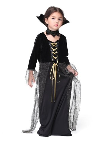 Festnight Fancy Magic Witch Costumes Halloween Children Skirt Suit Cosplay Girls Costume Party Clothes
