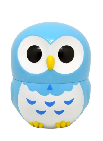 Kitchen Timer Lovely Cartoon Owl 60 Minute Mechanical Timer Cooking Little Helper Student Homework Timer