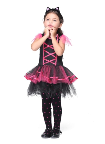 Festnight Fun u0026 Fancy Princess Costumes Christmas Day Halloween Girls Dress Cat Suit Cute Catwoman Cosplay  sc 1 st  Chicuu.com & l Festnight Letu0027s Pretend Pretty Princess Ballet Dancing Dress ...