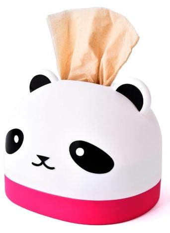 Boîte à Mouchoirs Créative RB281 Mignon Panda Boîte À Papier Restaurant En Plastique Papier Serviette Boîte Titulaire Couverture