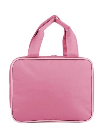 Borsa da viaggio portatile da campeggio organizzatore impermeabile trucco cosmetico borsa da toilette borsa da viaggio grande capacità borsa multifunzionale (rosso)