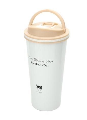 Grumpy Cat Vacuum Cup À Prova de Fugas 304 Aço Inoxidável Vacuum Flask Presente Negócios Coffee Cup