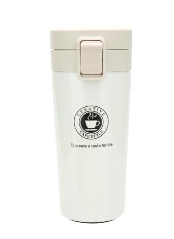 Новая стильная вакуумная чашка для путешествий Подарочная чашка для кофе из нержавеющей стали Вакуумная бутылка из нержавеющей стали