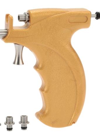 Profissional de aço inoxidável de segurança do nariz de nariz novel Body Piercing Gun Tool Kit Set