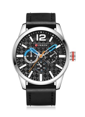 CURREN 2017 Luxury Sports Style Reloj de hombre de cuarzo a prueba de agua