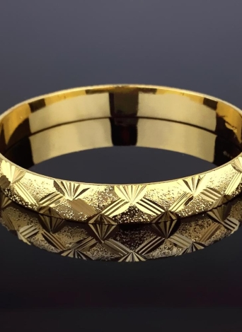Fashion Shiny Vergoldet Armreif Allgleiches Luxus Brautschmuck Zubehör