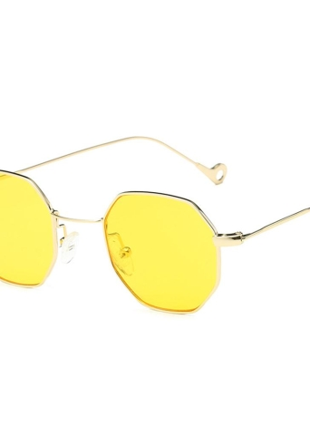 New Fashion UV400 Popular Small Pane Shape Unisex Plain Glass Spectacles