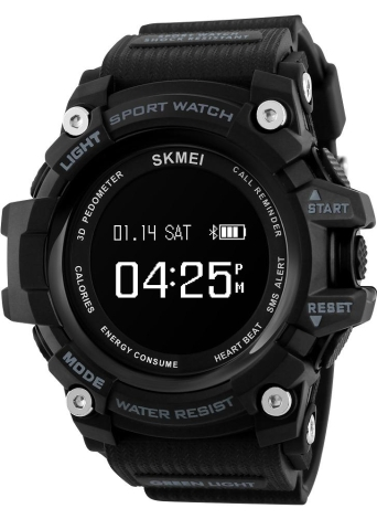SKMEI BT4.0 Smart Sports Watch 3ATM Water-Proof Smart Wrist Band Pedometer