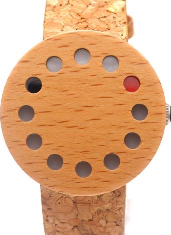 BOBOBIRD Relógio de madeira casual relógio de quartzo unisex