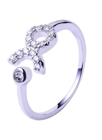 Bling Bling 925 Sterling Silver 12 Zodiac Star Signs Open Ring