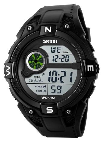 SKMEI 5ATM montres sport sport résistant à l'eau
