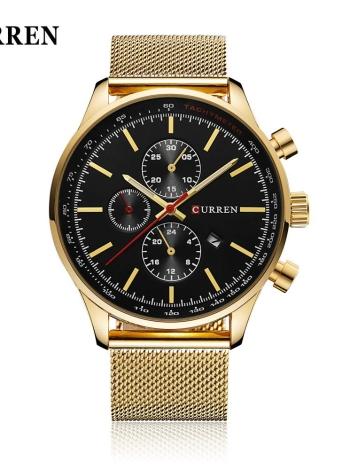 CURREN Brand Luxury Quartz Casual Business Wristwatch