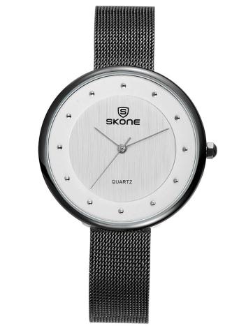 SKONE 3ATM Relógio de pulso impermeável Relógios de mulher casual