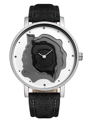 STARKING 2017 Moda Relógio de luxo de couro genuíno