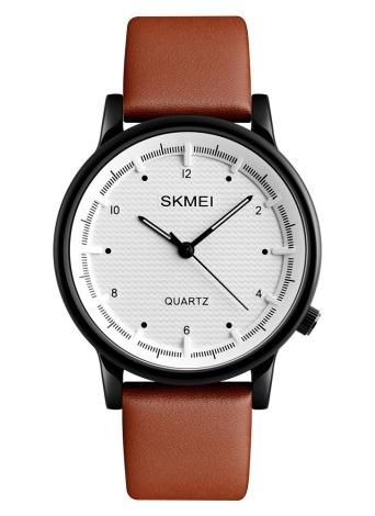 SKMEI 3ATM impermeável moda casual relógio homens relógio de quartzo