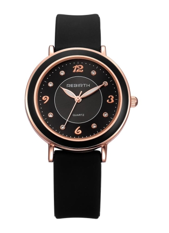 REBIRTH Fashion Casual Quartz Watch Life Waterproof Watch