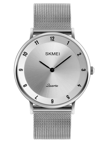 SKMEI Fashion Casual Quartz Watch 3ATM Relógio de pulso resistente à água