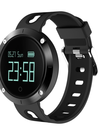 "Smart Watch 0.95 ""OLED Touch Screen BT 4.0 NRF51822 CPU Pressão sanguínea / Monitor de frequência cardíaca Pedômetro Smartwatch"