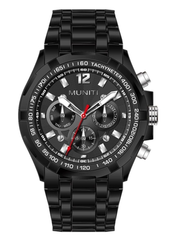 MUNITI Mode Sport Herrenuhr Leben wasserdicht Quarz Luminous Man Armbanduhr