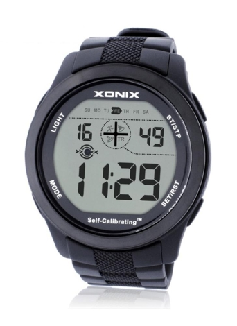 Reloj luminoso semi-elegante de Digitaces del reloj LED semi-elegante multifuncional seguro Reloj de pulsera impermeable de Digitaces del reloj