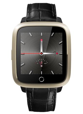 Cámara de la pantalla 3G de la pantalla 3G de la velocidad 1.3GHz Quad Core CPU Wifi BT4.0 Smartwatch