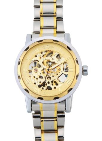 WINNER semi mecánico mecánico oro dragón patrón hombres reloj