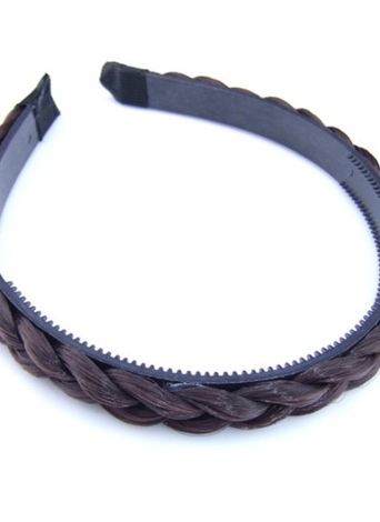 New Fashion Wig Braid Hairband Toothhed Headband Mulher Cabelo Decoração