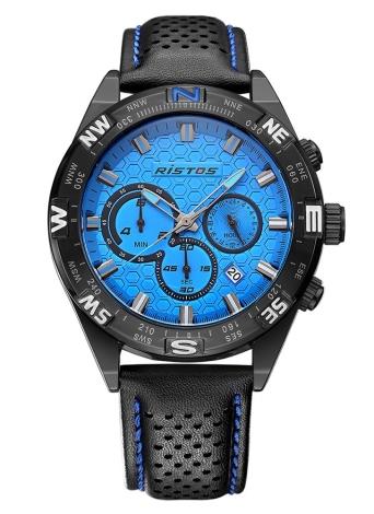 RISTOS 3ATM Relógios de quartzo masculinos resistentes à água