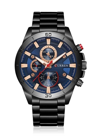 Reloj CURREN 2017 Fashion Luminous Stainless Steel Men