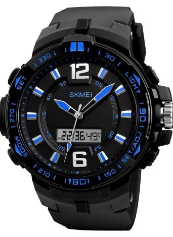 Reloj de pulsera con retroiluminación SKMEI Sport Digital Watch 5ATM resistente al agua para hombres