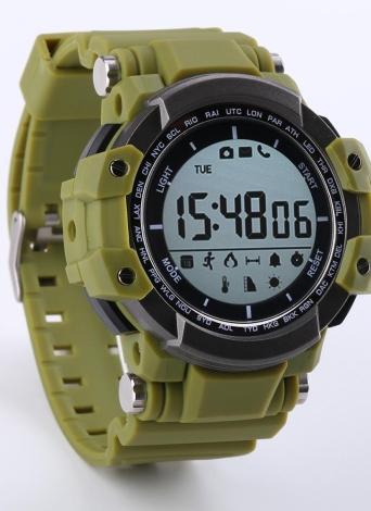 Zeblaze Sport Smart Watch 1,2 Zoll LCD-Bildschirm BT 4,0 Schrittzähler Fernbedienung Kamera Schlafüberwachung Smart Armbanduhr