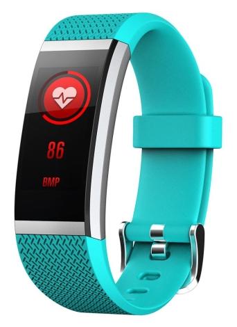 """BT4.0 étanche à l'eau Smart Wrist Band 0,96 """"écran tactile coloré Smart Bracelet Fitness Tracker fréquence cardiaque podomètre sommeil Moniteur Alarme Compatible IOS et Android"""