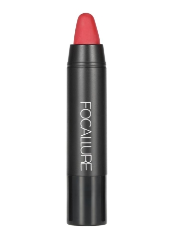 FOCALLURE 1Pc Matte Lipsticks Hydratant Lip Sticks Rouge Gloss Crayon Waterproof de longue durée 12 couleurs en option